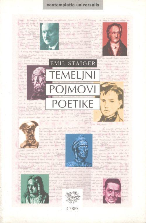 Staiger, Temeljni pojmovi poetike